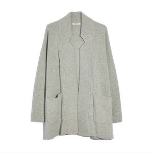 NWT Madewell Spencer Sweater Coat